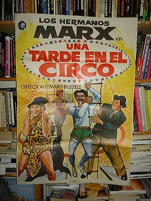 MARX BROTHERS AT THE CIRCUS/  V13F/ spain poster