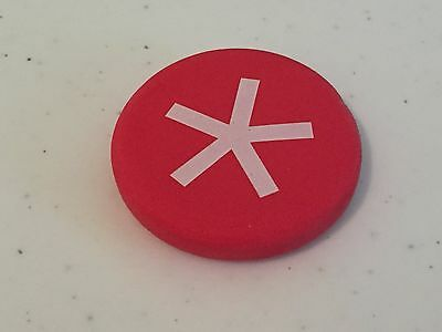 BlackBerry (RIM) Logo SPARK SPLAT Eraser Paperweight (RED) * Promo * SWAG *