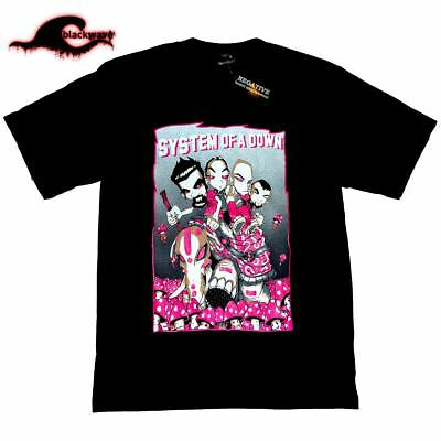 System Of A Down - Sea Of Shrooms - New Band T-Shirt