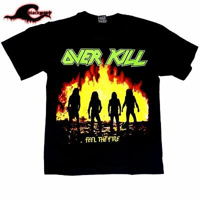 Overkill - Feel The Fire - Classic Band T-Shirt