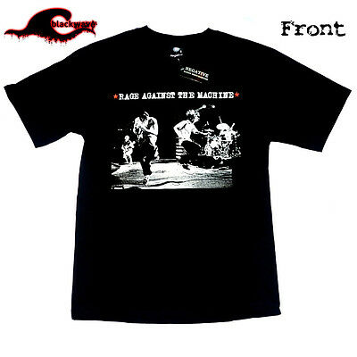 Rage Against The Machine - Rare Stage Photo - Classic Band T-Shirt