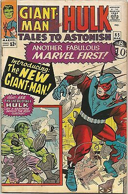 Tales To Astonish #65. Marvel Mar 1965. Ant-Man/Giant-Man. Wasp. Hulk. FN-