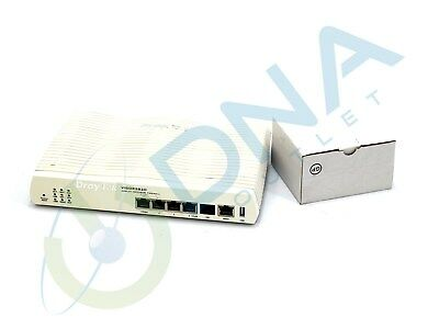 Draytek Vigor 2820 Adsl2/2+ Security Firwall Router & Psu - Tested & Warranty
