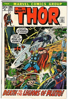 Thor #199. Vol1. Marvel May 1972. Buscema, Giacoia, Conway. FN+