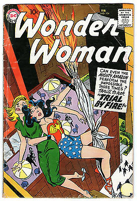 Wonder Woman #104. Vol1. DC Feb 1959. GD+/VG-