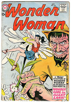 Wonder Woman #109. Vol1. DC Oct 1959. GD+