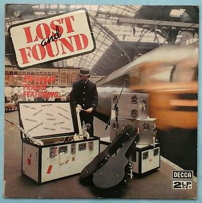 Various Artists ~ Lost And Found ~ 1980 Uk 24-Track 2Lp Set ~ Decca Dpa 3083/4