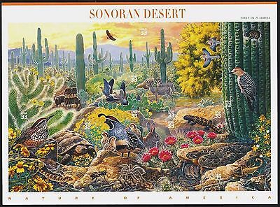 MNH NATURE OF AMERICA SERIES 1st In The Series Sonora Desert