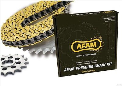 Kit chaine transmission AFAM pour DUCATI 998 MONSTER S4RS 2006-2007 ALU