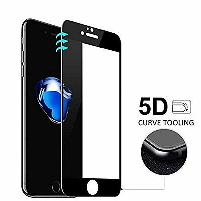 5D Curved Full Screen protector 3D Tempered Glass 9H for iPhone 8 7 6 pls