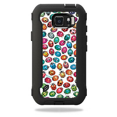 Skin Decal Wrap for OtterBox Defender Samsung Galaxy S6 Active Case Color Bugs