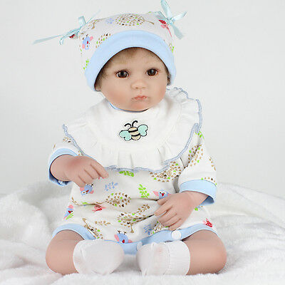 Lifelike Newborn Baby Boy Girl Doll Reborn Dolls Nursery UK Artist Xmas Kid Gift