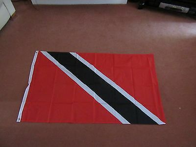 Trinidad and Tobago FLAG 5FT X 3FT WITH TWO METAL EYELETS