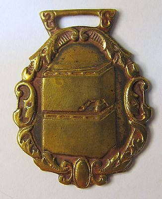 early vintage F. MEYER & BRO. CO. HANDY FURNACE PIPE Peoria Illinois watch fob *