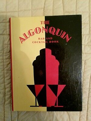 The Algonquin Bar And Cocktail Book Cocktail Recipes