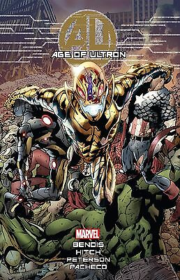AGE OF ULTRON Hardcover HC $75 Cover Avengers Brian Bendis *SEALED* Brand New/NM