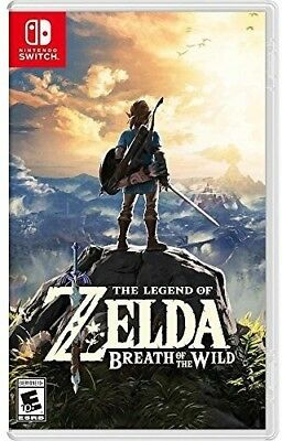 The Legend of Zelda: Breath of the Wild for Nintendo Switch [New Switch]