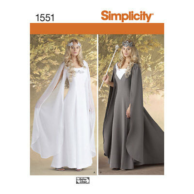 Simplicity 1551   Misses' Costumes Sewing Pattern