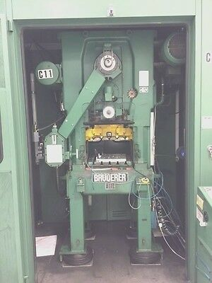 Bruderer 1984 BSTA 30II High Speed Metal Stamping Press