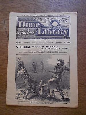Wild Bill Beadle's Dime Library 1882