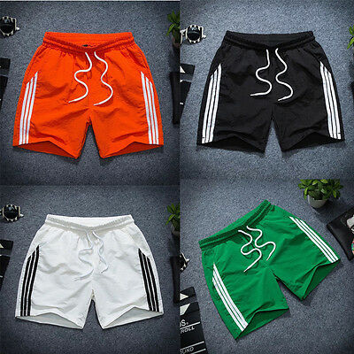 Boy Men Gym Athletic Jogger Shorts Quick Dry Casual Sport Trousers Classic Pants