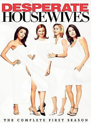 Desperate Housewives - The Complete First Season (DVD, 2005, 6-Disc Set) NEW