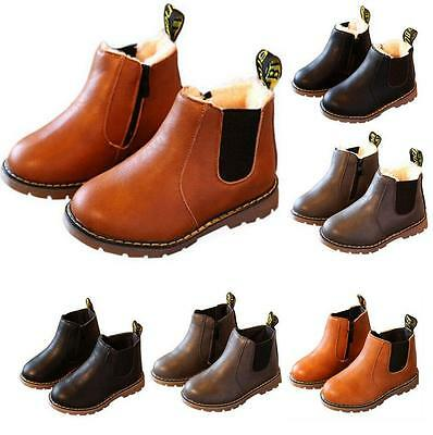 Winter Children kids Martin Boots Snow Baby Shoes Toddler Boys Girls Boots