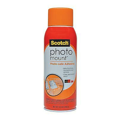 Scotch(R) Photo Mount (TM) Photo-safe Spray Adhesive, 6094, 10.3 oz