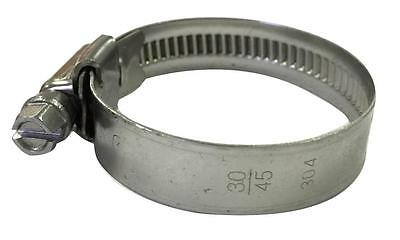 Stainless Steel Hose Clamps Assorted Sizes (Boxes Of 100)