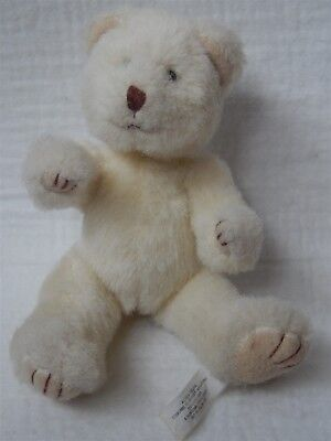 Russ Berrie Cream Teddy Bear  Soft Toy 6.5""
