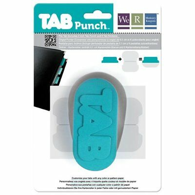 We R Memory Keepers Tab Paper Punch, File