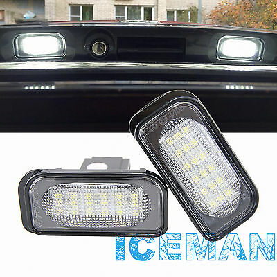 Mercedes-Benz LED Plafon de Matricula Luz LED de Placa W203 2000 - 2007