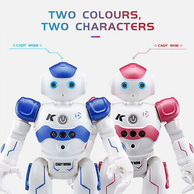 USB Charging RC Robot Toy Remote Control Electronic Walk Dancing Gift Robot