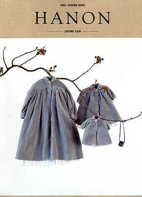 Doll Sewing Book HANON - Japanese Craft Book SP4