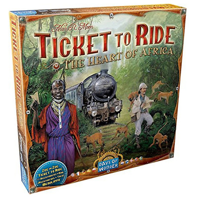 Ticket to Ride Heart of Africa Expansion Board Game