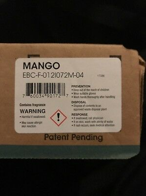 Fresh Eco Bowl Clip 2.0 Mango 12/cs EBC72-MG Kitchen & Dining Features, New