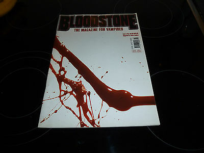 Bloodstone # 5 2000 The Magazine For Vampires, Crowley, Blood Societies