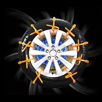 10x Car Universal Mini Plastic Winter Tyres wheels Snow Chains For Cars/Suv
