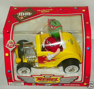 M&M's Rebel Without a Clue Candy Vehicle Dispenser Ages 3 & Up 3rd in Series