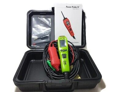 Power Probe PP401AS IV 9 Mode Diagnostic Circuit Tester Tool Green PPIV