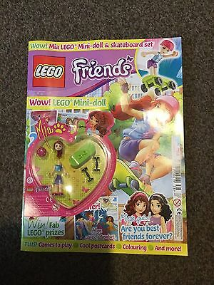 LEGO Friends issue  38   2 Aug - 29 Aug With free gift lego mini doll