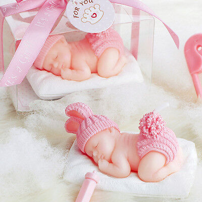 Boy&Girl Sleep Baby Candle Cake Candles Decoration Birthday Party Supplies