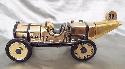 Famous Firsts Decanter 1911 Indy 500 Marmon Wasp - Gold Version - Full Size