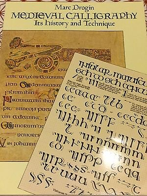 Medieval Calligraphy: Its History and Technique by Drogin, Marc -Paperback