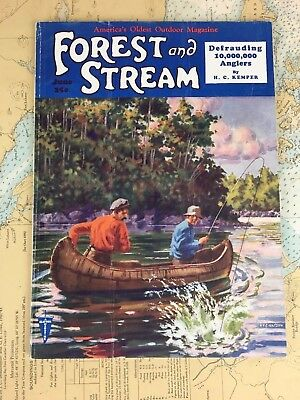 7/1930 FOREST and STREAM vintage magazine hunting & Fishing 1930