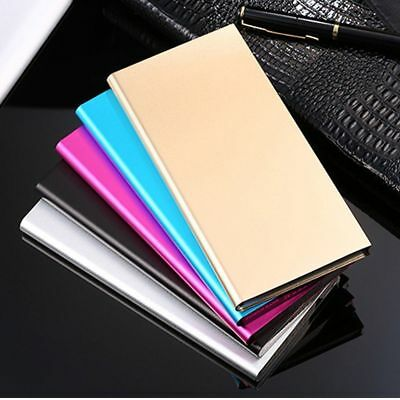 US 50000mAh 2 USB Power Bank External Charger Backup Battery Pack For Cell Phone