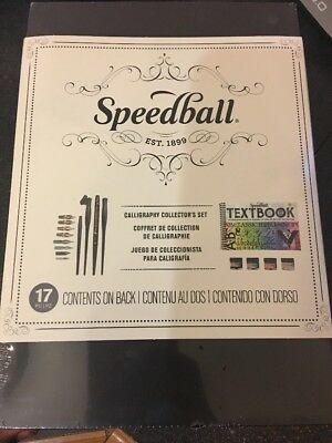Speedball Art Products Calligraphy Collector's Set 17pc