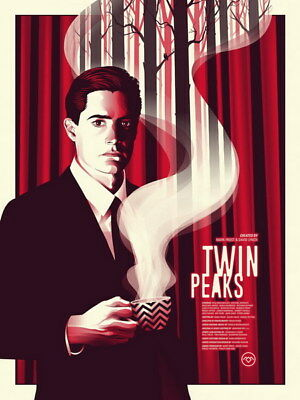 """035 Twin Peaks - Kyle MacLachlan Love Thriller USA TV Show 14""""x18"""" Poster"""