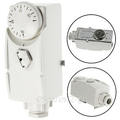 TOWER PCS TPS1 Hot Water Cylinder Tank or Pipe Thermostat TPS-1 Valve Stat Strap