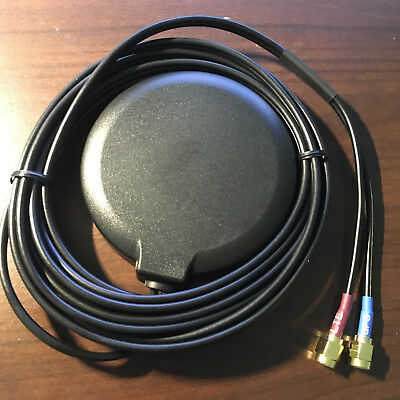 GPS +GSM/3G/4G/LTE with 700MHz coverage Combo Antenna SMA adhesive